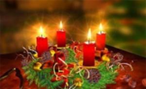 Weihnachtsmotiv Kerzen